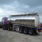 Koppelingen voor tankwagen